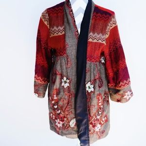 Soft Surroundings NWT fall floral jacket